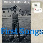 Cover Mikis Theodorakis First Songs