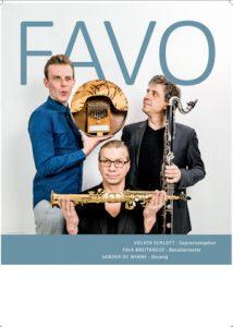 FAVO Poster blau