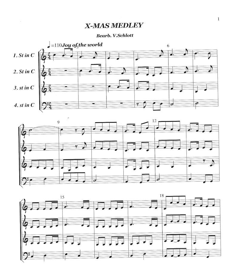 Xmas Medley pt.1